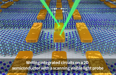 Developing a Novel Process of Writing Integrated Circuits onto 2D Semiconductors